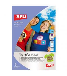 PAPEL TRANSFER PARA PRENDAS OSCURAS - Imagen 1
