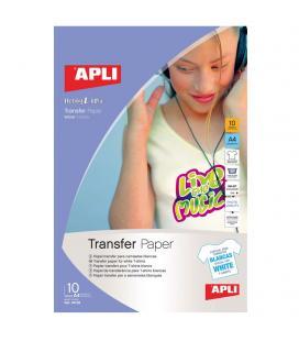 PAPEL TRANSFER PARA CAMISETAS BLANCAS - Imagen 1