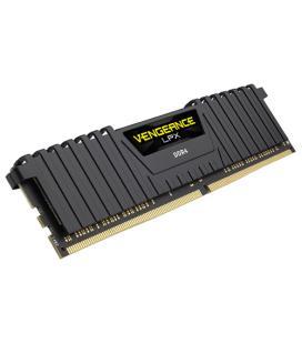 MEMORIA CORSAIR DDR4 8GB 2X4GB PC 2400 VENGEANCE LPX BLACK