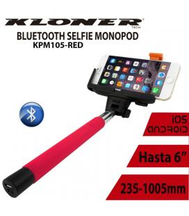 PALO SELFIE KL-TECH BLUETOOTH ROJO