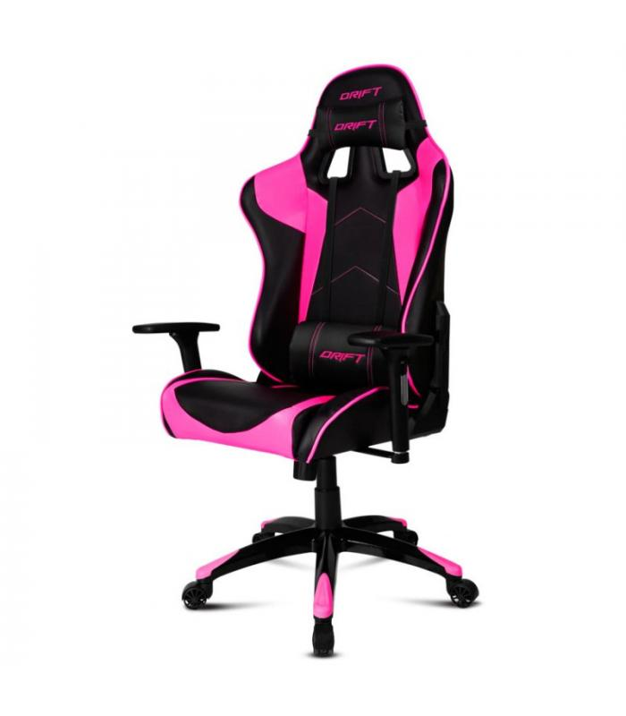 Drift silla gaming dr300 negro rosa for Rebajas sillas gaming