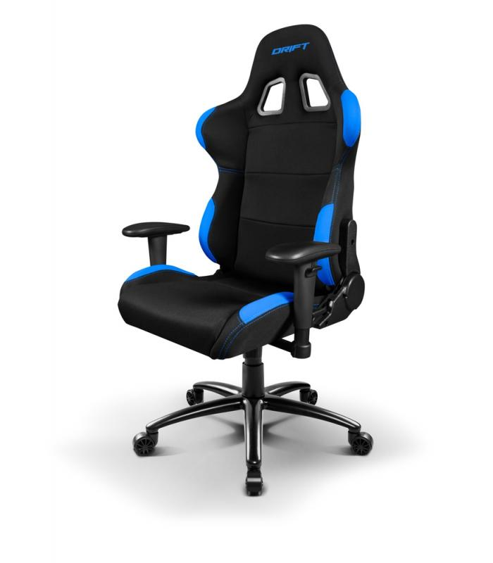 Drift dr100bl silla gaming negra azul for Rebajas sillas gaming