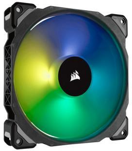 VENTILADOR CAJA CORSAIR ML140 PRO RGB 140MM PREMIUM MAGNETIC LEVITATION RGB LED PWM FAN SINGLE PACK - Imagen 1