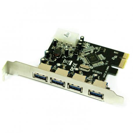 TARJETA PCIE CON 4 PUERTOS - Imagen 1