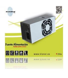 FUENTE TFX 350W KL-TECH KTFX01 80MM - Imagen 1
