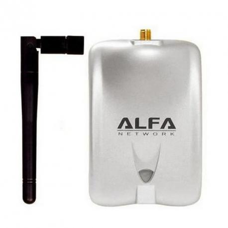 ADAPTADOR USB WIFI 2DBI ALFA - Imagen 1