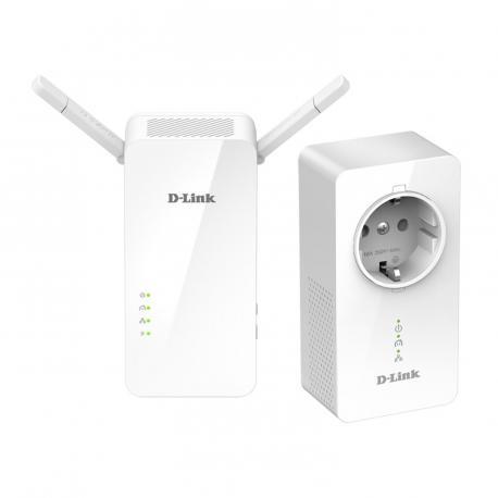 PLC/POWERLINE CON REPETIDOR WIFI DLINK - Imagen 1