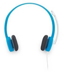 Logitech H150 Binaurale Diadema Azul auricular con micrófono