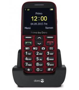 """Doro Primo 366 2.3"""" 87g Rojo"""
