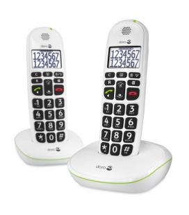 Doro Easy 110 Duo Teléfono DECT Blanco