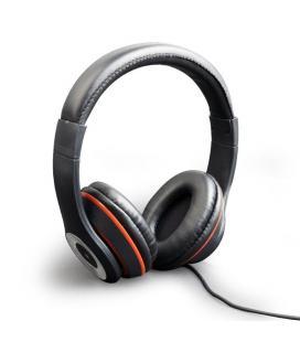 Gembird Los Angeles Binaurale Diadema Negro auricular con micrófono