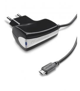 Cellularline CHARGER Interior Negro cargador de dispositivo móvil