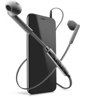Cellularline Mantis Pro Dentro de oído Binaurale Alámbrico Gris auriculares para móvil