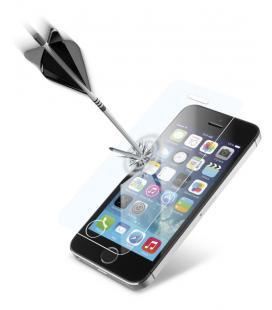 Cellularline TEMPGLASSIPH5 Protector de pantalla iPhone 5, iPhone 5S, iPhone 5C, iPhone SE 1pieza(s) protector de pantalla