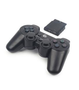 Gembird JPD-WDV-01 Gamepad PC,Playstation 2,Playstation 3 Negro mando y volante - Imagen 1