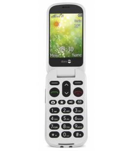 "Doro 6050 2.8"" 111g Oliva, Color blanco Teléfono básico"