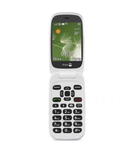 """Doro 6520 2.8"""" 108g Grafito, Color blanco Teléfono básico"""