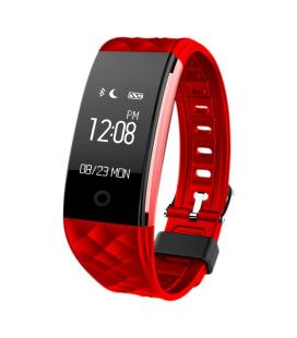 "Woxter SmartFit 15 Wristband activity tracker 0.96"" OLED Inalámbrico IP67 Negro, Rojo"