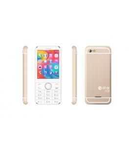 """eSTAR A28 Gold 2.8"""" 100g Oro, Color blanco Característica del teléfono"""