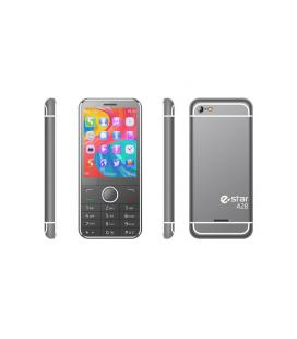 """eSTAR A28 Silver 2.8"""" 100g Gris, Plata Característica del teléfono"""