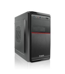 TooQ TQC-4745DU3C-B Mini-Tower 500W Negro carcasa de ordenador