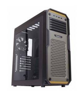 Antec GX909 Midi-Tower Negro, Verde carcasa de ordenador