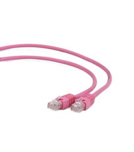 Gembird RJ45/RJ45 Cat6 0.5m 0.5m Cat6 F/UTP (FTP) Rosa cable de red