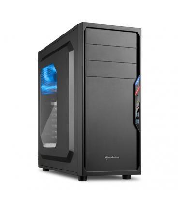 Sharkoon VS4-W Midi-Tower Negro carcasa de ordenador - Imagen 1