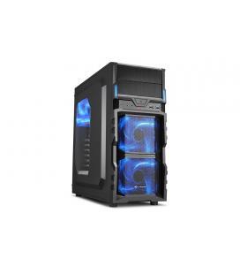 Sharkoon VG5-W Escritorio Negro carcasa de ordenador