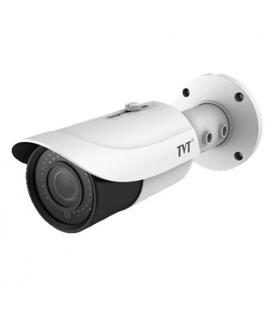 Cámara Tubular TVT 4en1 5Mpx IR30m Lente varifocal 2,8 a 12 mm