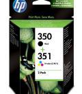 HP Pack de ahorro de 2 cartuchos de tinta original 350 negro/351 tricolor - Imagen 13