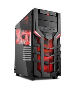 Sharkoon DG7000-G Midi-Tower Negro carcasa de ordenador