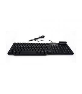 CoolBox COO-TEC02DNI USB QWERTY Español Negro teclado