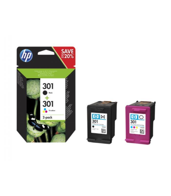 HP 301/ /Color 1/x Original cabezal de impresi/ón de tinta para HP CH562EE Envy 5530