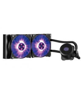 VENTILADOR CPU COOLER MASTER REFRIGERACION LIQUIDA MASTERLIQUID LITE 240 RGB