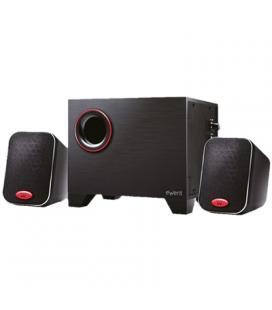 EWENT EW3505 Altavoces 2.1 Negro 15W