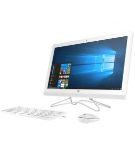 "PC ALL IN ONE HP 24-E010NS - I3-7100U 2.4GHZ - 8GB - 1TB - 23.8"" TACTIL - W10 - BLANCO"