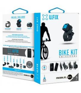 Mobilis 044002 Bicicleta, Universal Soporte pasivo Negro soporte