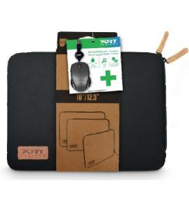 "Port Designs TORINO 12.5"" Funda Negro"