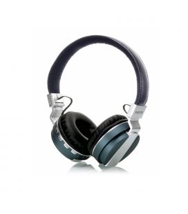 Auriculares Bluetooth 4.1 con Reproductor MicroSD/MP3/Radio FM Azul Fonestar