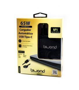 Cargador Universal Automático 65W Tipo C Biwond