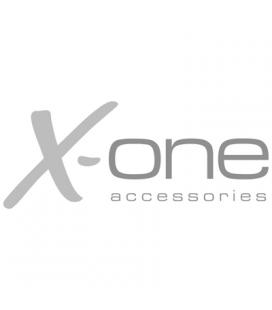 X-One cargador pared 2xUSB 2.1A + Tipo-C 1m Blanco