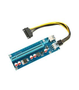 ADAPTADOR PCI-E 1X A PCI-E 16X GPU EXTENDER RISER
