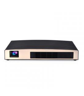 Smart DLP LED WiFi Projector - 180Lumen, Android OS, MSTAR638 CPU,  Wi-Fi, Bluetooth,  Google Play,  Airplay, Happycast - Imagen