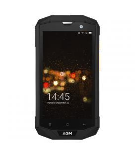 AGM A8 Rugged Android Phone - Android 7.0, Dual IMEI, 4G, Quad-Core CPU, 3GB RAM, 5 Inch IPS Display, 13MP Cam, OTG, NFC - Image