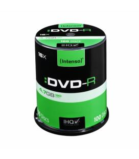 CONSUMIBLE INTENSO DVD-R 4.7GB 100PCS 16X TARRINA