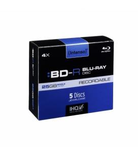CONSUMIBLE INTENSO BD-R 25GB 5PCS 4X CAJA
