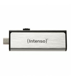 PENDRIVE 16GB USB2.0 INTENSO MOBILE LINE PLATA