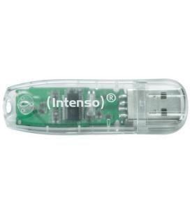 PENDRIVE 32GB USB2.0 INTENSO RAINBOW TRANSPARENTE
