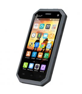 Ken Xin Da W6 Rugged Smartphone - IP68, Dual SIM, 4G, Quad Core CPU, Shock Proof, Android 6.0 (Black)